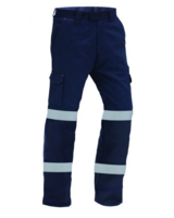 TWZ Titan Hi Vis Tape RIPSTOP Cotton Trouser 210gsm