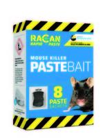 Racan Rapid Mouse Killer PASTE Bait 8-Pack x 1