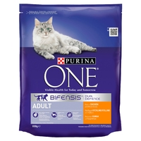 Purina One Adult Cat - Chicken & Whole Grains 800g x 1
