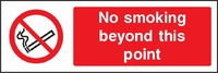 Prohibition and Smoking Sign PROH0004-1050