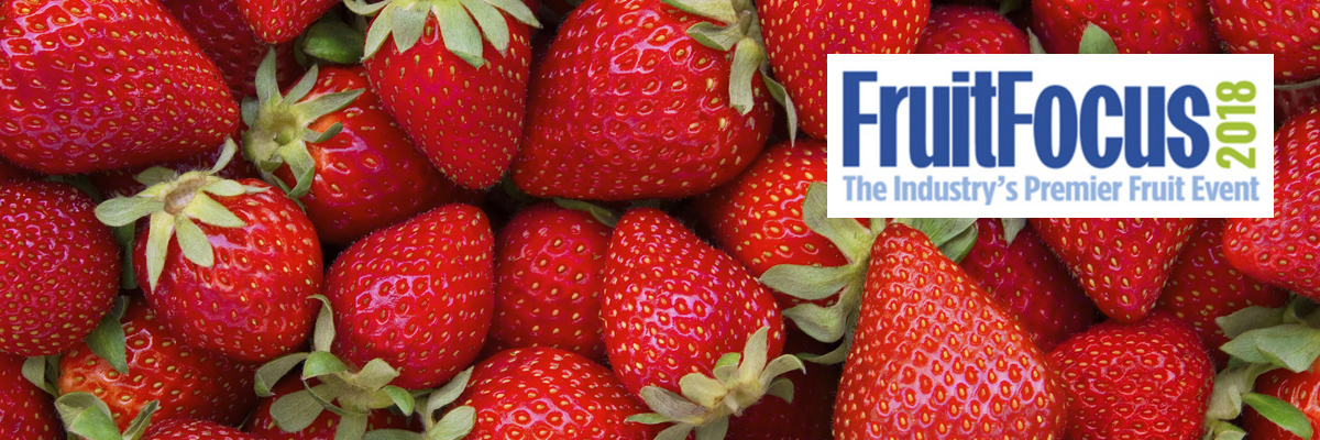Join us at Fruit Focus on Stand 376, Wednesday 25th July 2018