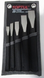Flat Chisel Set in w
