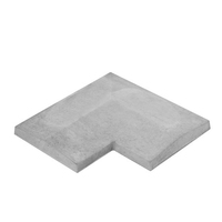 T/W Coping Return Grey 140 x 140