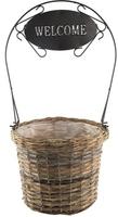 Welcome Planter Basket Large