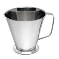 2 Litre Stainless Steel Measuring Jug