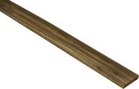 3m flat top palisade 75x19mm brown