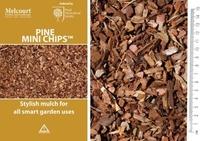 Melcourt Bark Pine Mini Chips 60lt