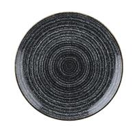 Studio Prints Charcoal Black Coupe Plate 21.7cm Carton of 12