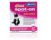 Johnson's 4-Fleas Cat Spot-On Drops x 1