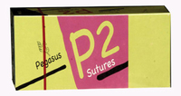 PEGASUS SUTURES 4/0 75CM 1/2 CIRCLE-PK12