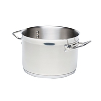 Genware Stewpan No Lid Stainless Steel 18/10 11.1 Litre280mm