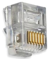 CAT5 Networking Accesories TS66 RJ12 6 Pin Crimp Plug