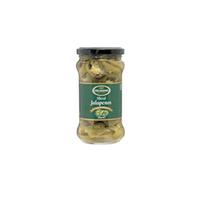 Jalapenos Green Sliced 12x280g-(Small Jar)
