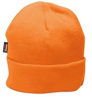 HI-VIS Insulatex Acrylic Beanie Orange