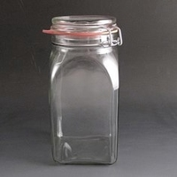 1.5 Litre Glass Storage Jar