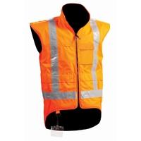 Stamina Hi Vis TTMC-W Fleece Lined Vest