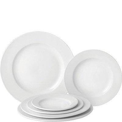 """Pure White Wide Rim Plate 6.75""""(17cm)"""