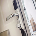 CONEXIS DIGITAL DOOR HANDLE POLISHED CHROME
