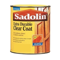 SADOLIN EXTRA DURABLE CLEARCOAT SATIN 1LTR