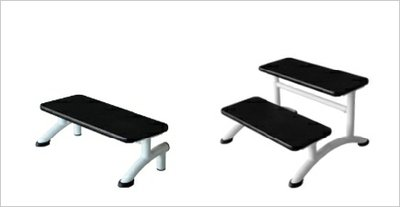 Fixed & Adjustable Height Couch Accessory Steps