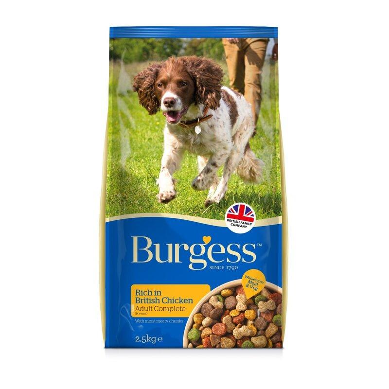 Burgess Adult Dog Rich in Chicken 15kg