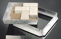 "Recessed Manhole Cover & Frame 85 x 300x300mm 12x12"" Galvanised"