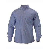 Bisley Chambray Long Sleeve Cotton Shirt