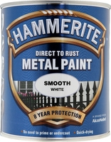 5092956 HM METAL PAINT SMOOTH WHITE 750ML