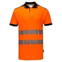 Portwest Hi-Vis Vision Polo Shirt Orange
