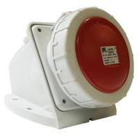 CEE UIV4166SRU Wall Socket 16A 400V 5P Red IP67