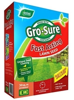 Gro-Sure Lawn Seed Fast Acting 30m2