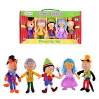 Pinocchio Finger Puppet Set
