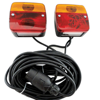 Magnetic Trailer Lamps 7.5M Cable(Bulb)
