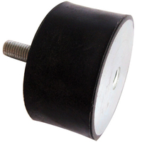 Rubber Bolt & Tap Mounting 75 x 40