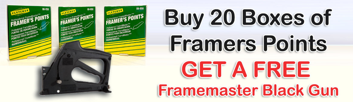 Free Framemasters Black Gun Offer