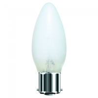 EVEREADY OPAL CANDLE LAMP B22 25W ROUGH SERVICE