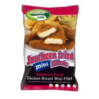 Chicken Goujons/Strips(Southern Fried) Halal-Perdix-(3x1kg)