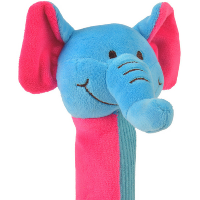 close-up image of elephant squeakaboo