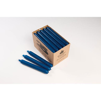7 Hour Candles 25pk Blue