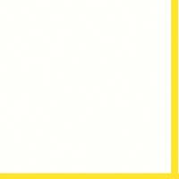 """Mountboard White On Yellow 40"""" x 32"""" 1600mic"""