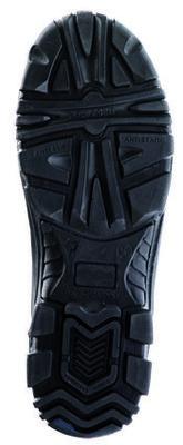 Powerlite Black Rigger Boot Fur Lined S3 SRC