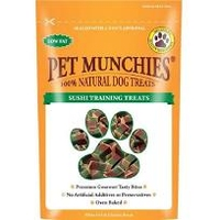 Pet Munchies Dog Training Treats Sushi 150g x 8