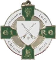 34mm Hurling Medal (Silver / Green)