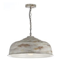 Nara 1 Light Pendant, Aged Metal | LV1802.0079