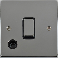 Flat Plate PC 20A DP Switch F/OUT Black | LV0701.0346