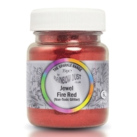 354989 HALOGRAM JEWEL FIRE RED R/Dust35g - NON EDIBLE