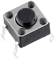 Micro Switch Button Vertical Touch 4 Pins 12x12x5 mm