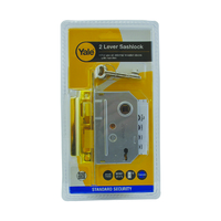 YALE 2.5'' BRASS MORTICE LATCH