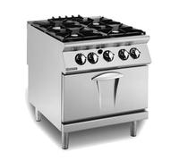 Mareno 4 Burner Gas Oven Range 800x900x900mm 109,290Btu