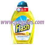 Flash Lemon Liquid Gel Floor 400ml x10